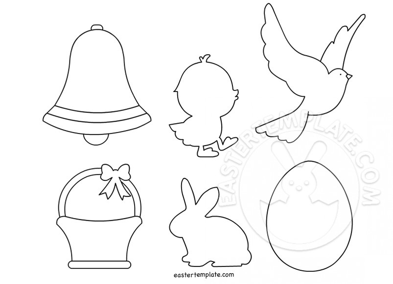 Easter templates to print easter template for Easter chick templates free