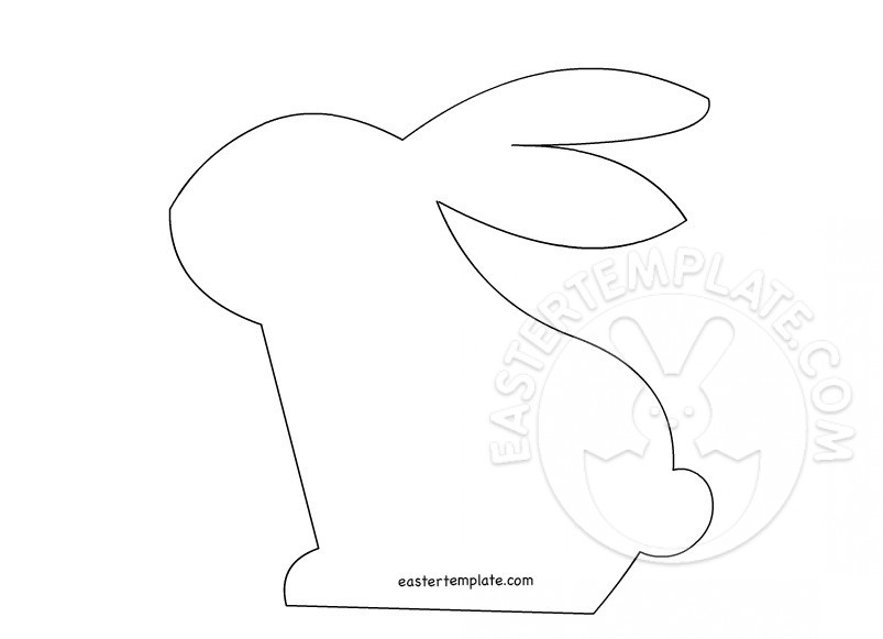 Bunny Rabbit Template 2
