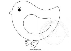coloring pages of baby chicks - easter template page 2 of 9 have fun with free