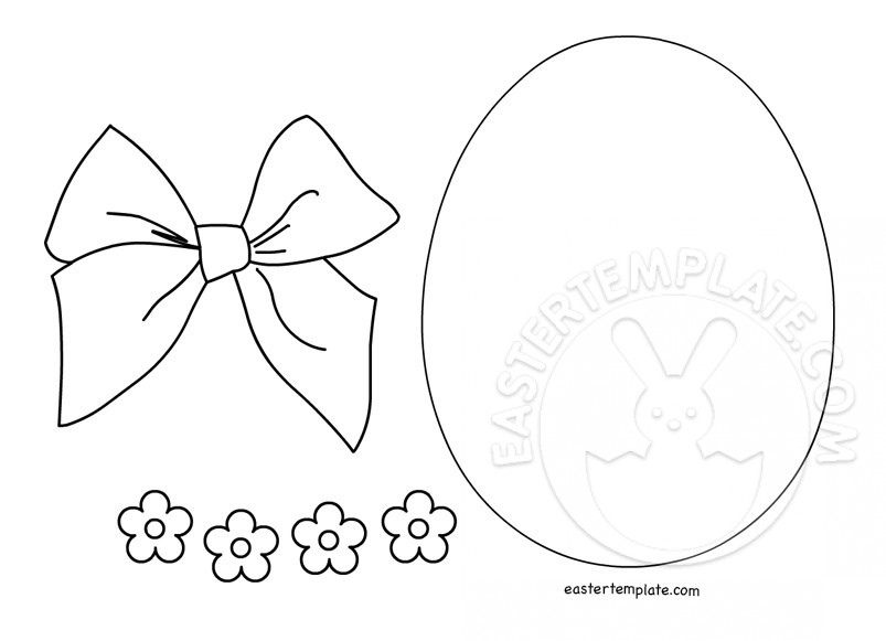 Craft Templates Easter Egg
