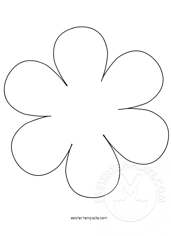 Easter Flowers Template Archivi - Easter Template