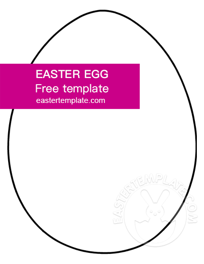 easter egg shape
